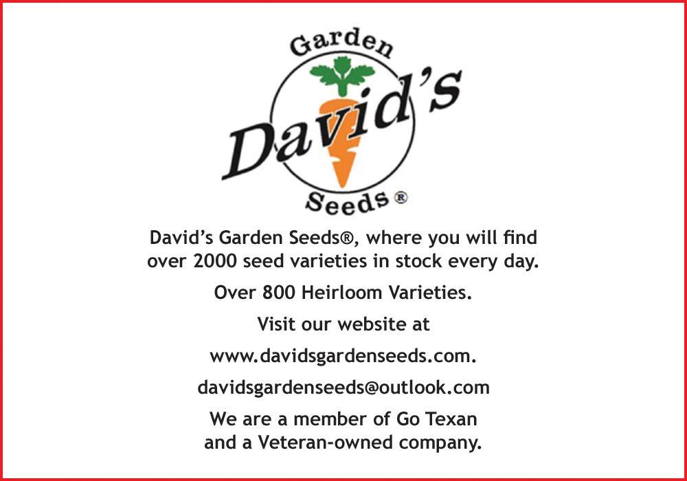 Davids Garden Seeds