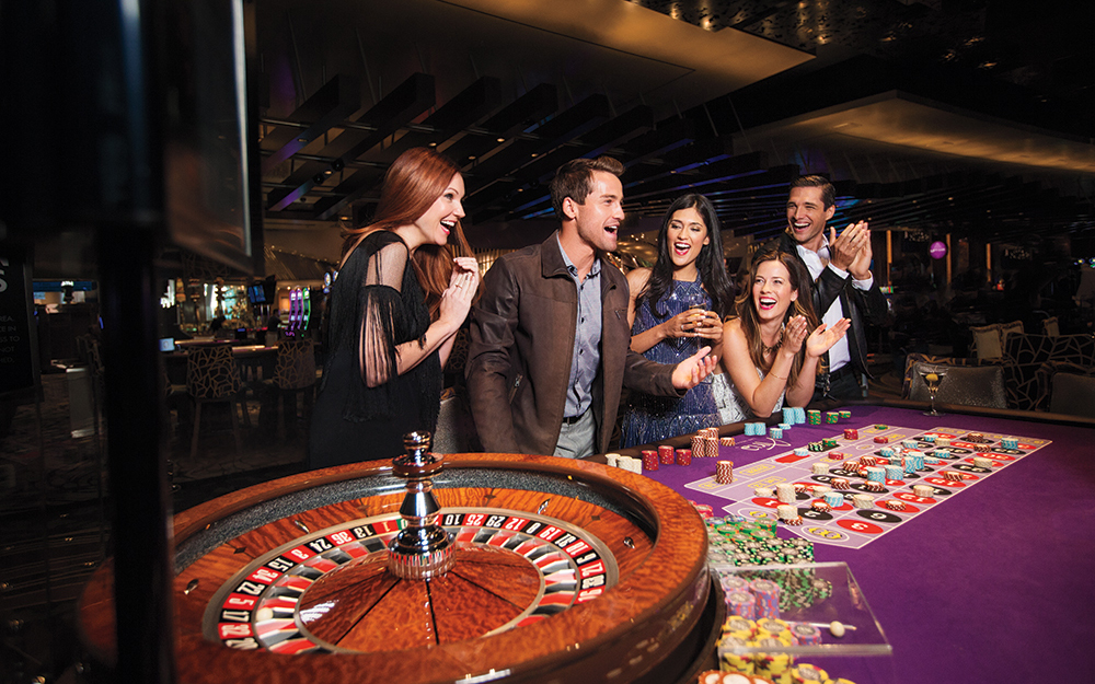 roulette players at aria hotel las vegas
