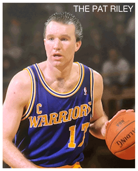 Chris Mullin hairstyles that never were (The Pat Riley)