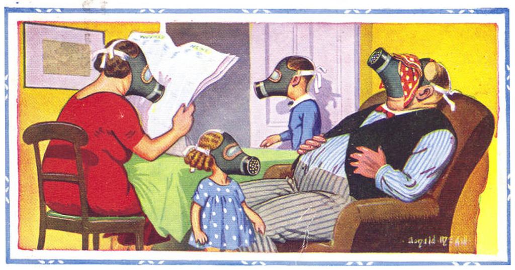 gas mask orwell