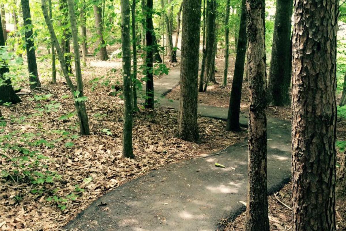journey winding running trail