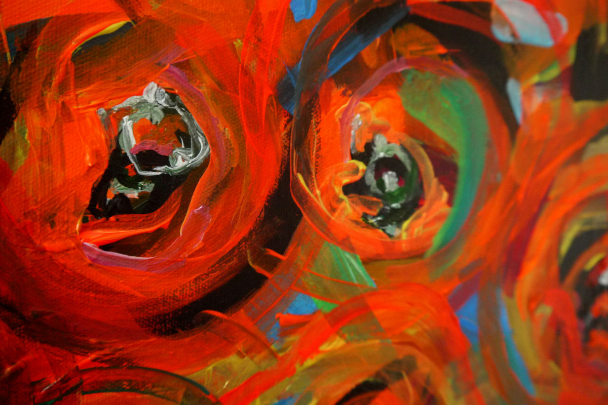 """Anxiety. Abstract expressionism. Photo: Chris Murtagh. """"couple3."""" Licensed under CC BY 2.0"""