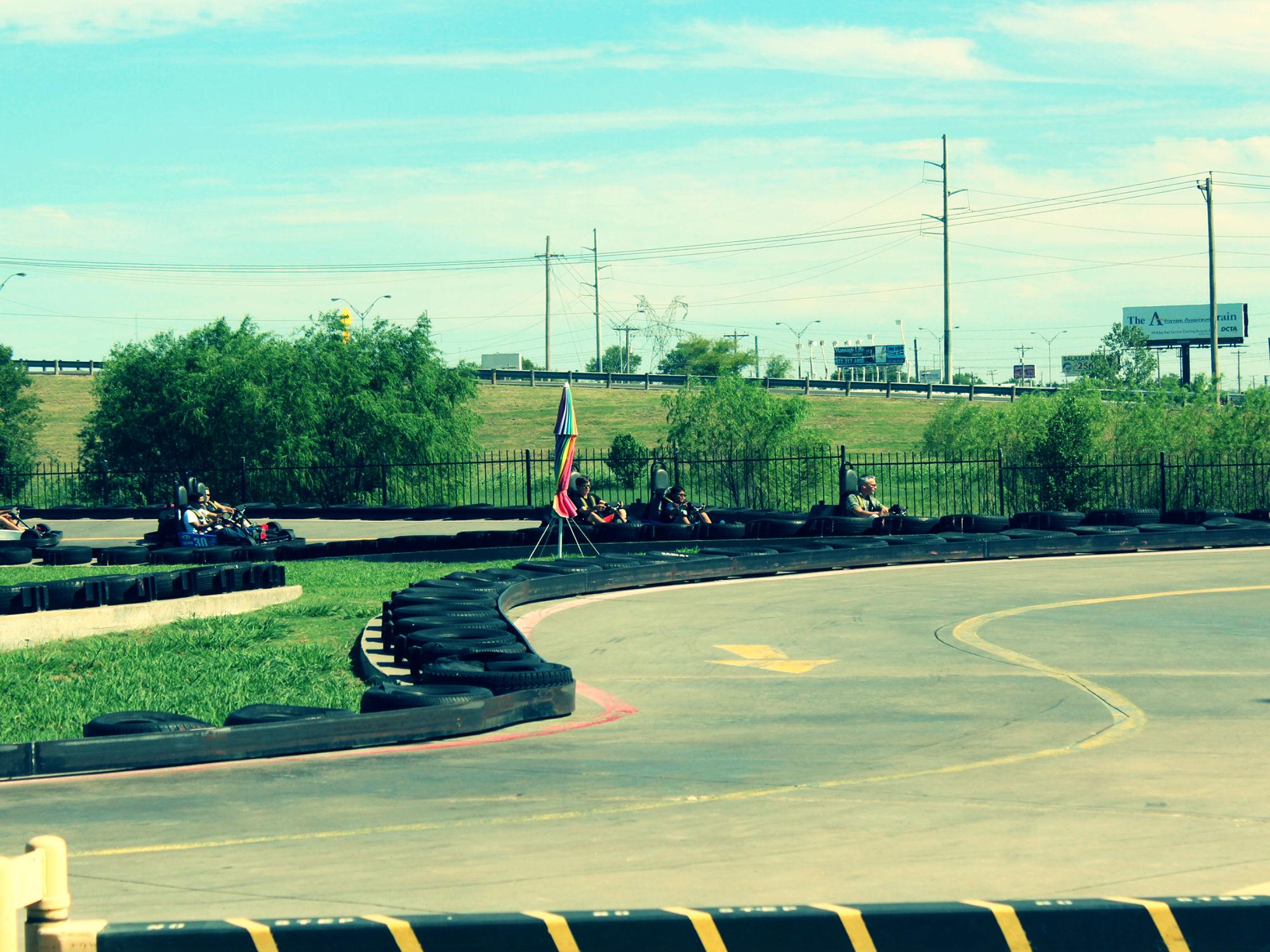 "Photo: Kumar Gauraw. ""Go Kart Track."" Licensed by CC BY 2.0"