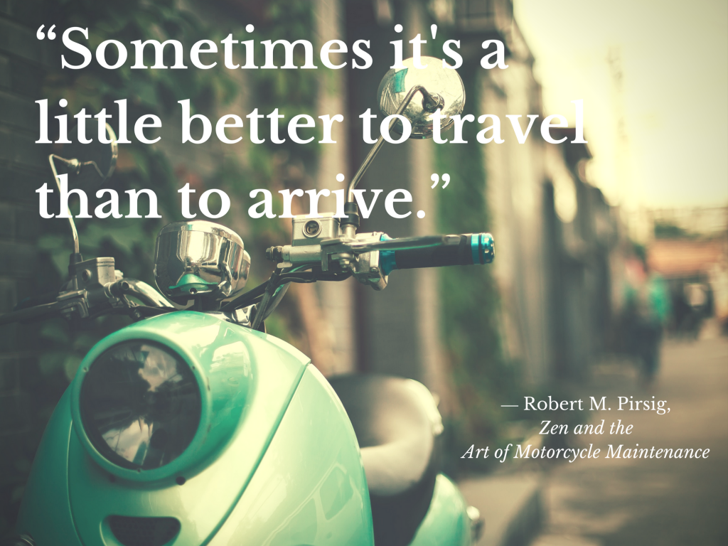 quote from zen and the art of motorcycle maintenance