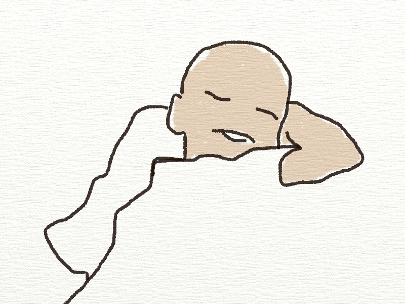 line drawing of a baby