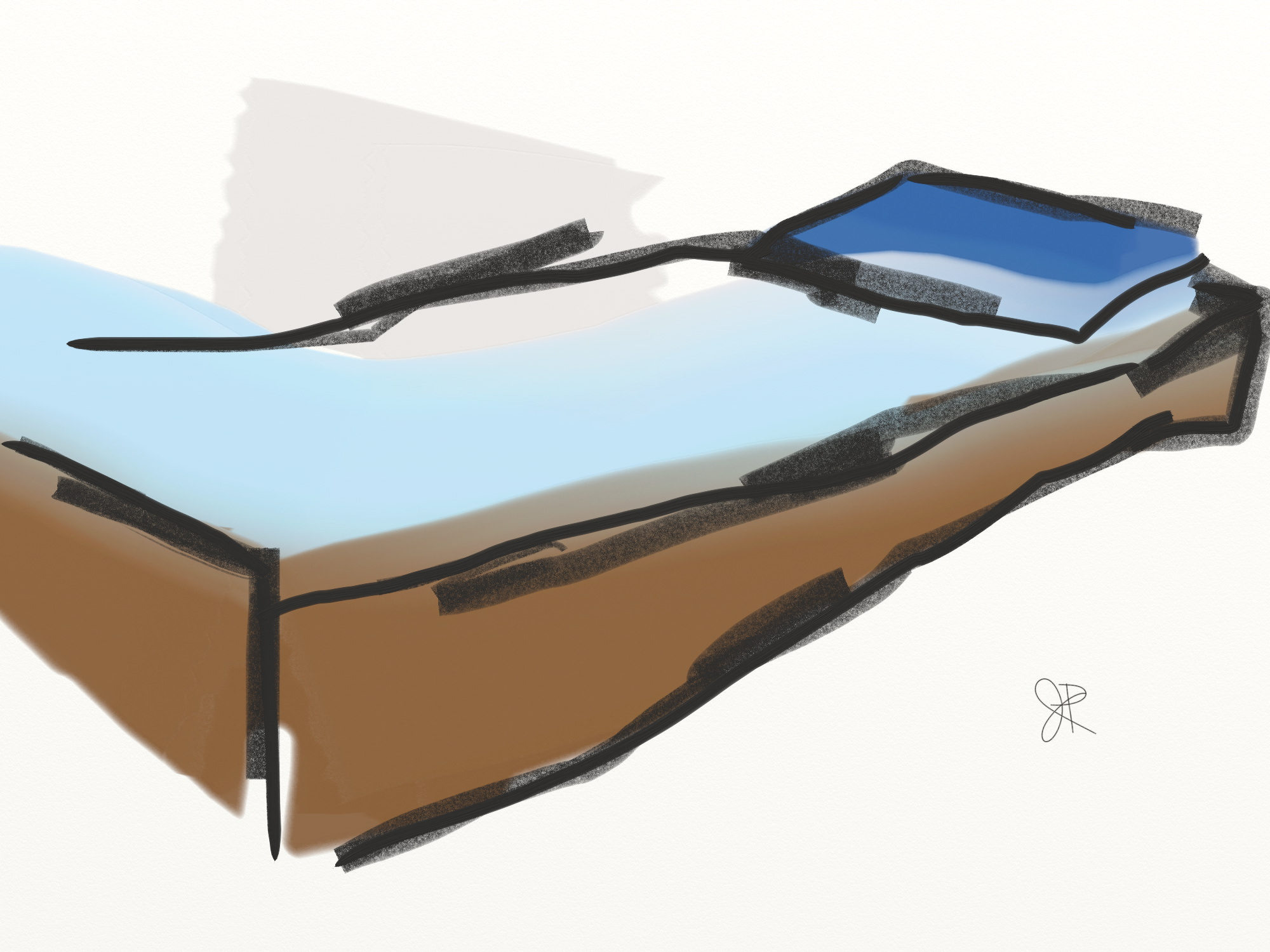 bed from childhood