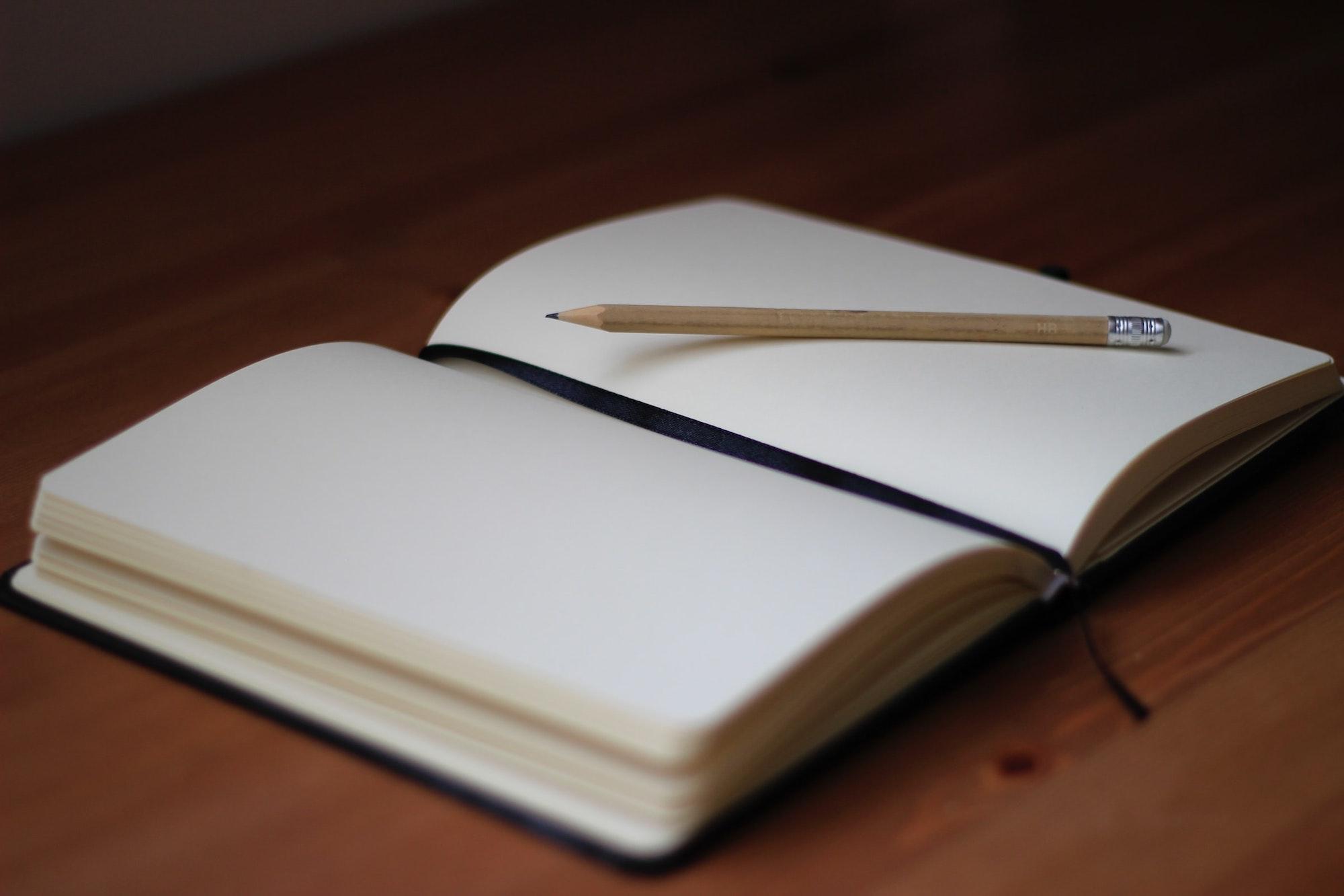blank journal