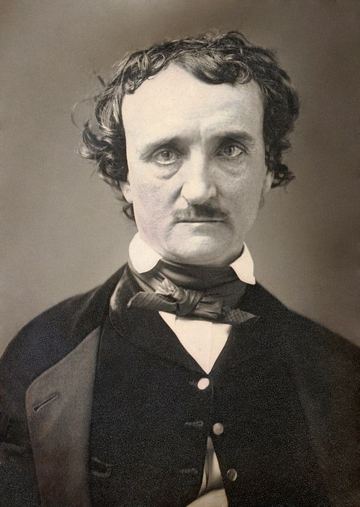 """Photo of Edgar Allan Poe. Pretty sure my boy Poe knew what a panic attack was all about (ex. beating heart in """"The Tell-Tale Heart"""")"""