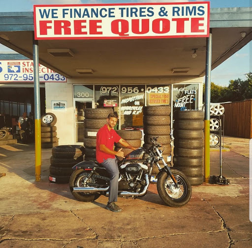 State inspection and tire shop
