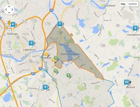 Kittredge Elementary School District Map