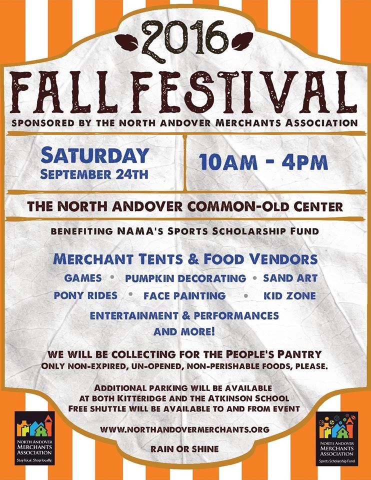 North Andover Fall Festival