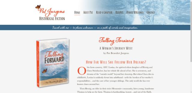 Pat Jurgens Author Website