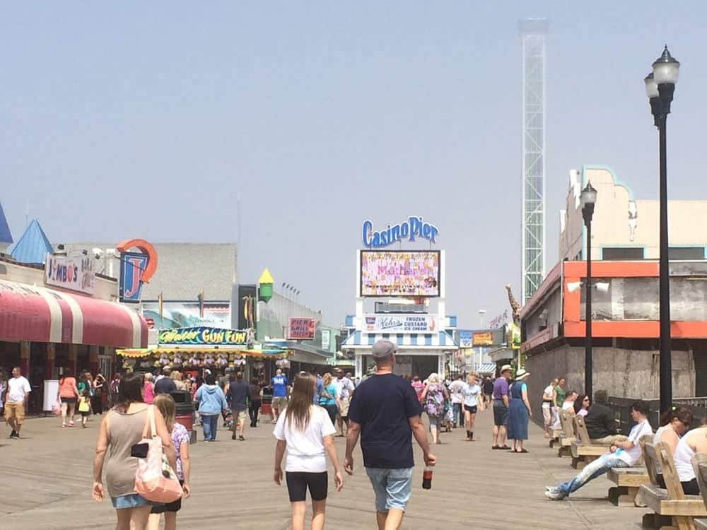 Seaside Boardwalk