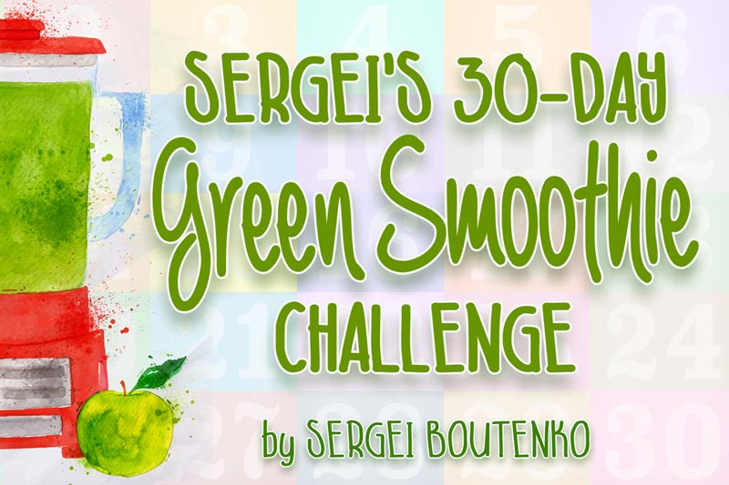 30-Day Green Smoothie Challenge
