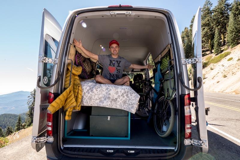 Sprinter Van Conversion (my DIY setup for less Than $1,200)