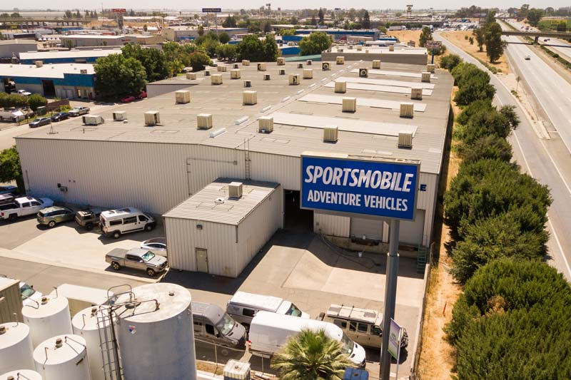 Sportsmobile West Tour With Alan Feld