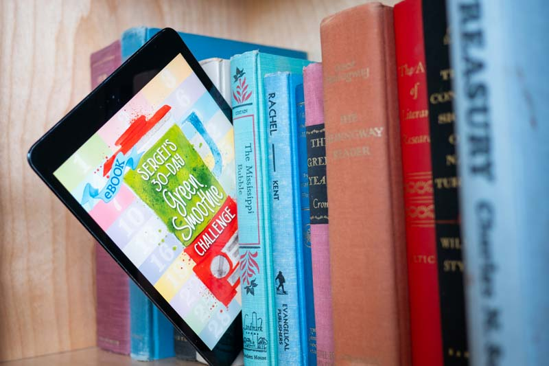 Green Smoothie Book vs. eBook?