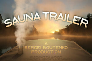 "I'm gearing up to shoot a new movie called ""Sauna Trailer"""