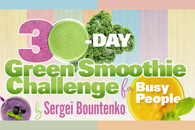 NEW BOOK ALERT: 30-Day Green Smoothie Challenge for Busy People
