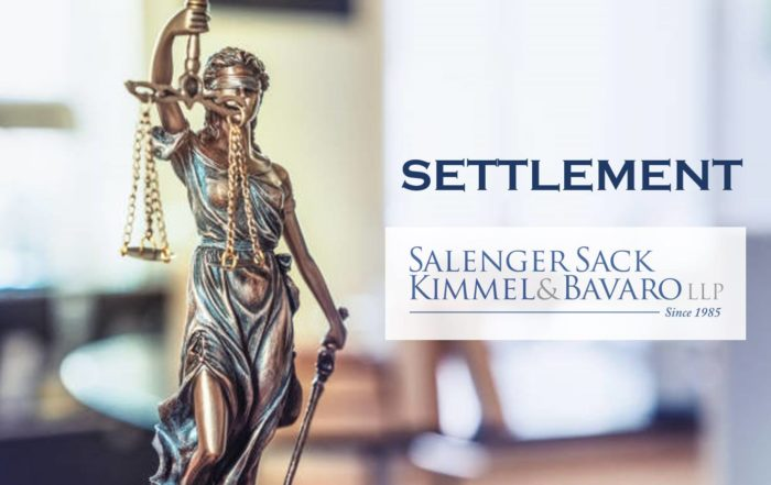 Settlement Win for Client