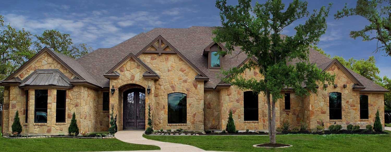 front exterior custom home