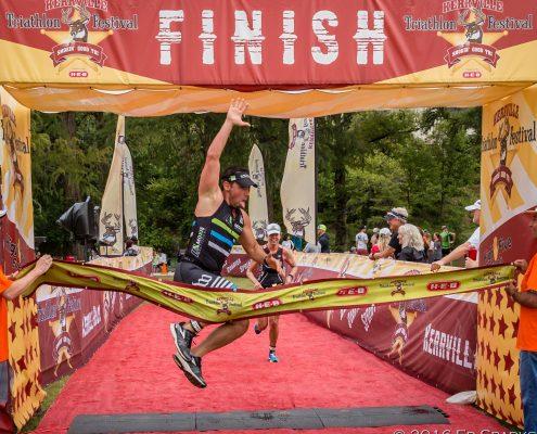 half iron distance triathlon - Kerrville Triathlon Finisher
