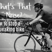 how to stop a squeaking bike - jacks generic triathlon - austin texas