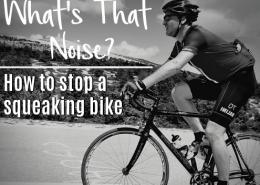 how to stop a squeaking bike - jacks generic triathlon - austin texas