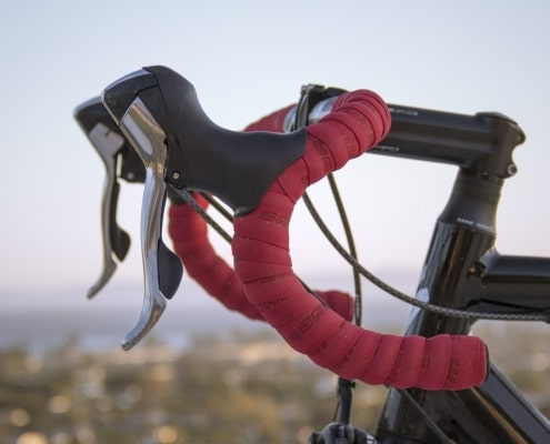 Bike with new handlebar tape