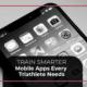 Train Smarter. Mobile apps for triathletes blog image