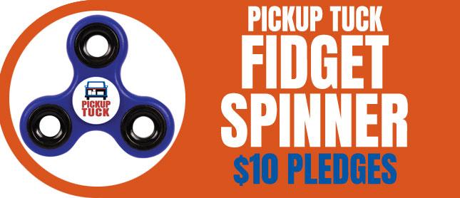 Fidget Spinner Reward for Backers