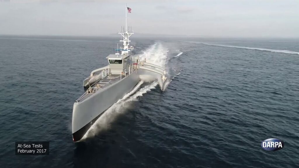 Sea Hunter Sea Trials