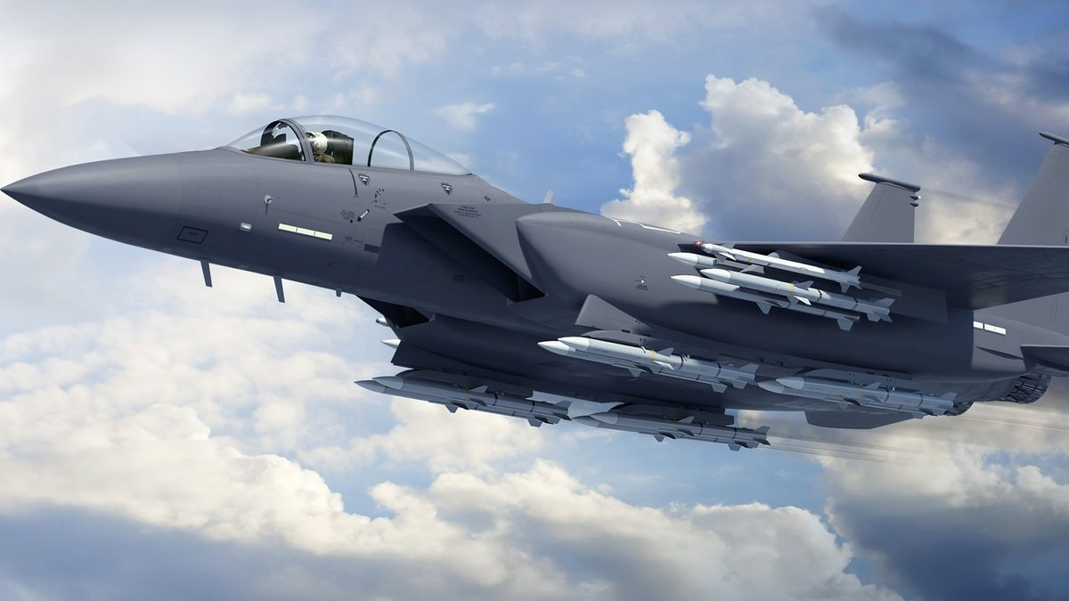 Fighter F-15 EX