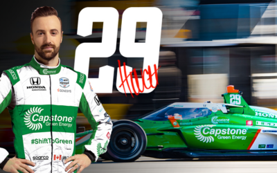 Capstone Turbine Returns to INDYCAR With Andretti Steinbrenner Autosport and James Hinchcliffe