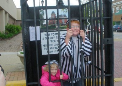 Opie's in jail