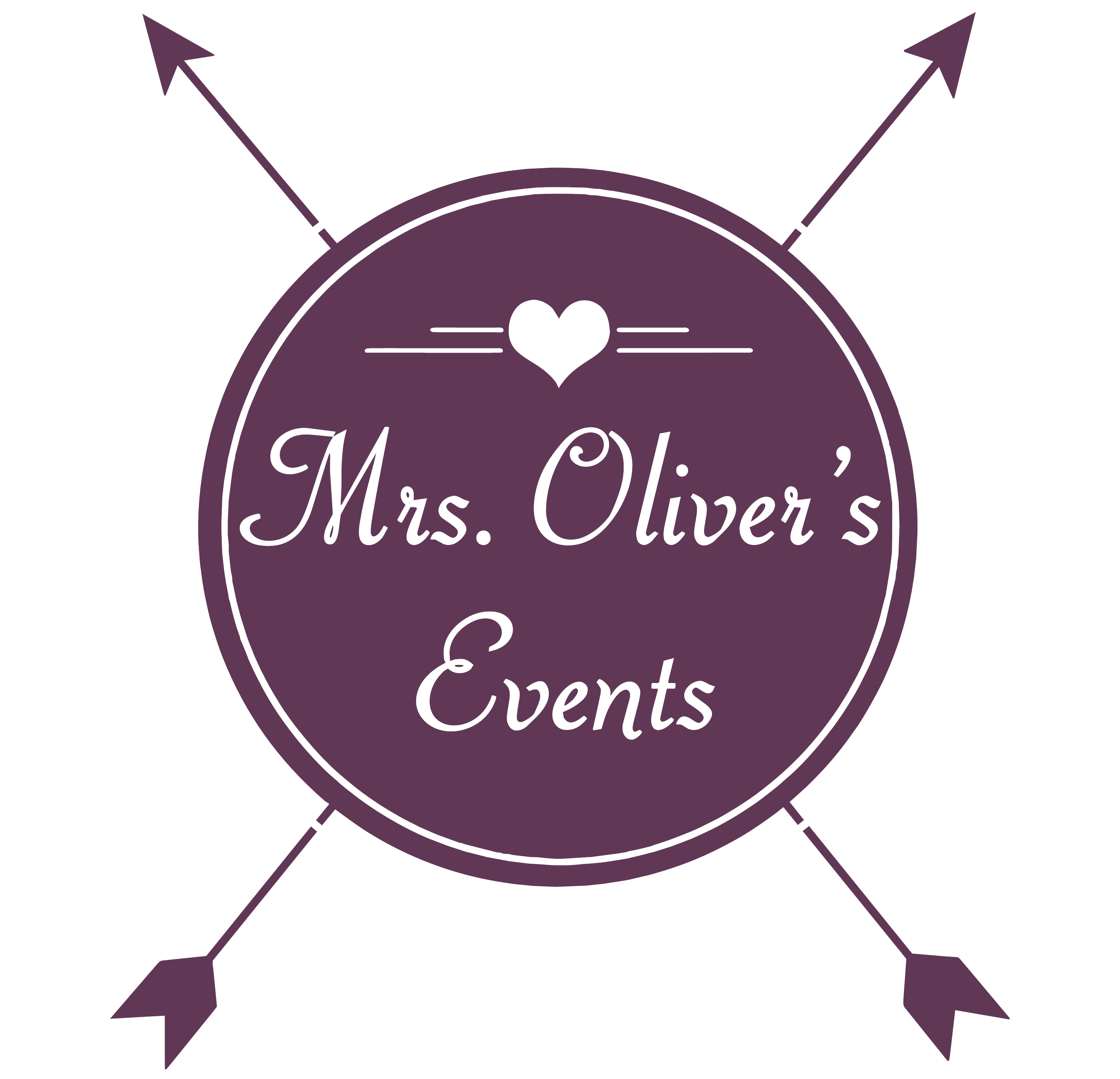Mrs. Oliver's Weddings & Event Planning Logo