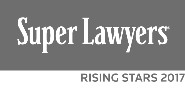 Super Lawyers 2017 California Rising Stars Logo