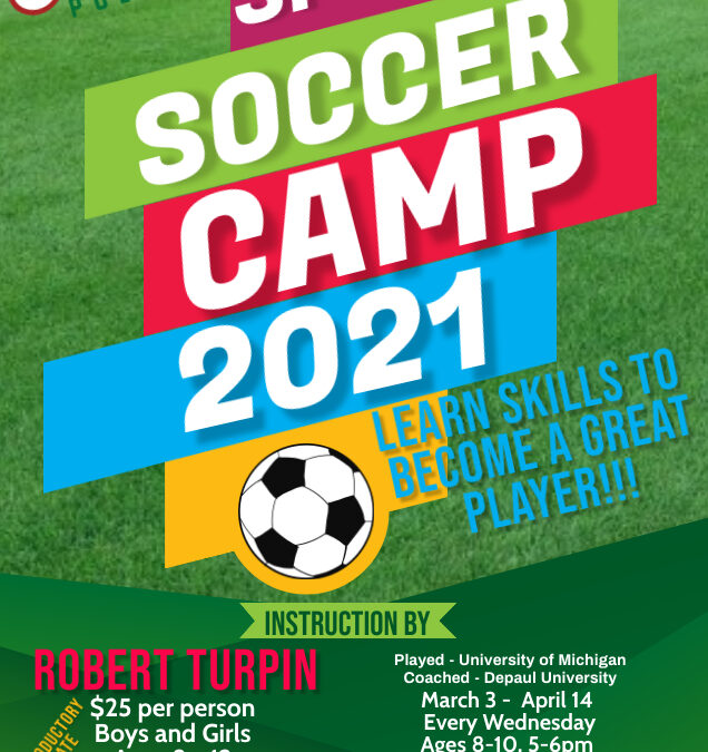 2021 Pullman Ballers Spring Soccer Clinic