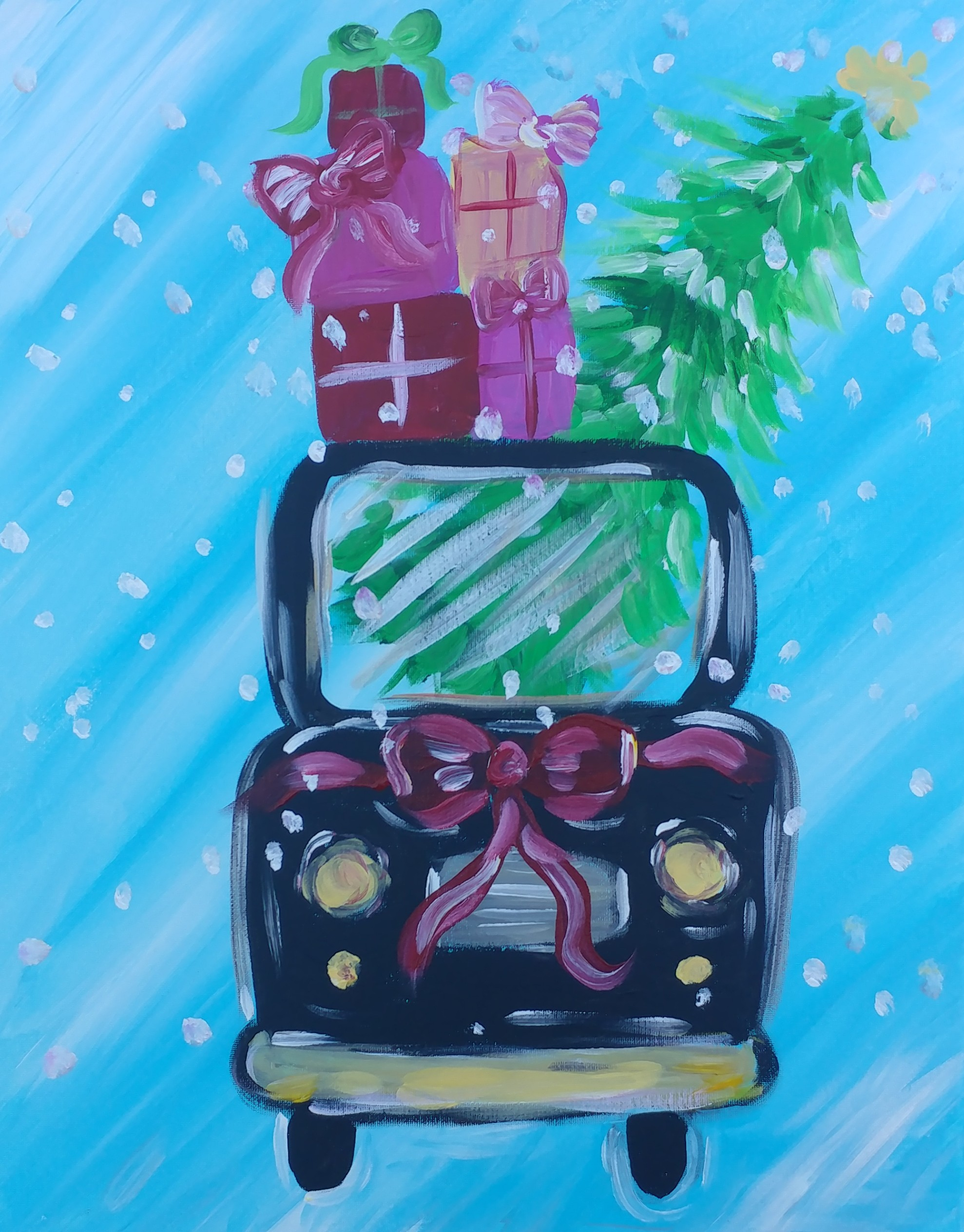 CHRISTMAS GIFTS TRUCK