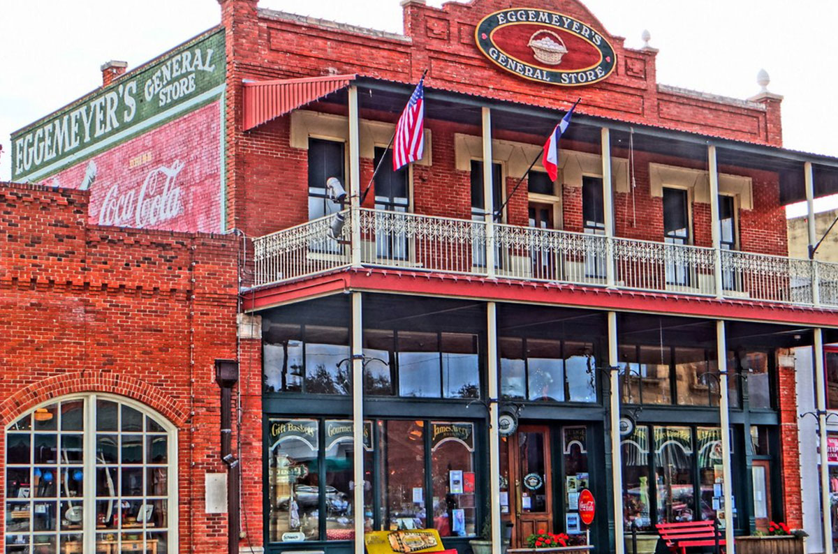 Old General Store in San Angelo, TX for ESC 15