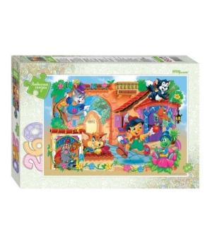"""74066 Мозаика """"puzzle"""" 260 """"Буратино"""" (Любимые сказки)"""