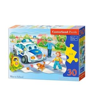 Puzzle-30 MIDI В-03204 Дорога в школу