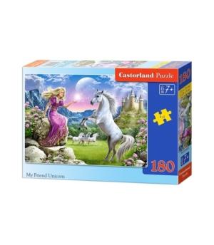 Puzzle-180 В-018024 Единороги
