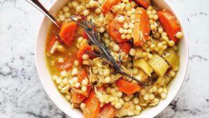 Chicken Cous Cous Soup