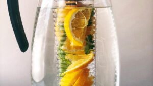 Citrus Mint Infused Water