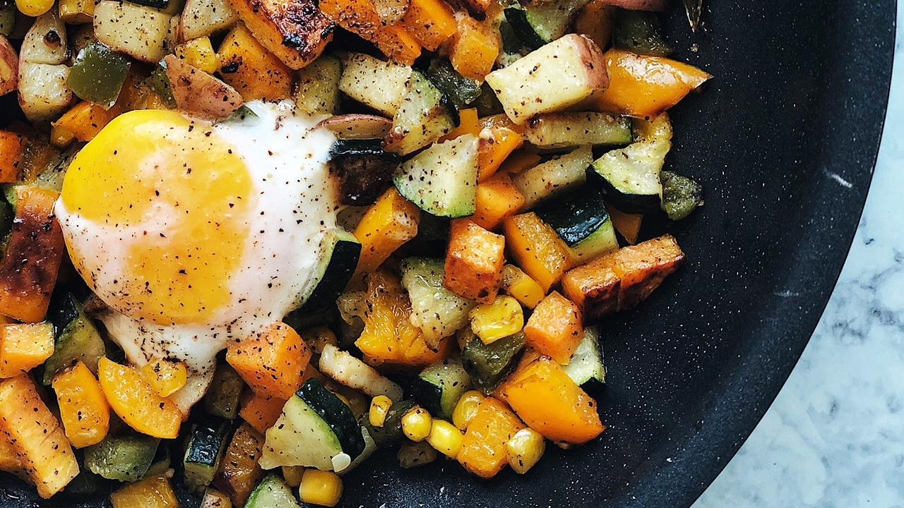 Healthy Veggie Hash