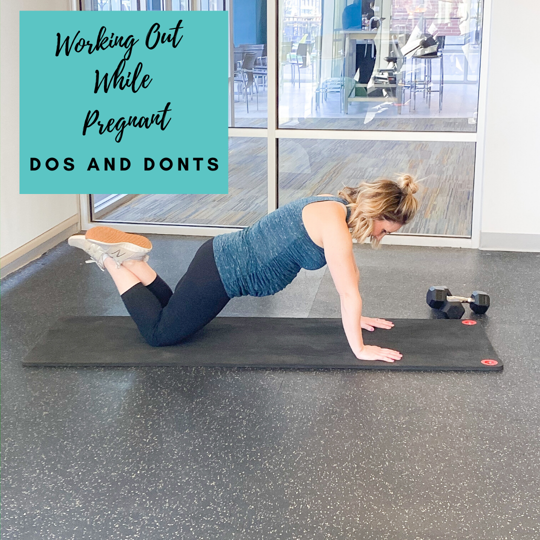 Working Out While Pregnant: Do's and Dont's | Fit Mama in 30