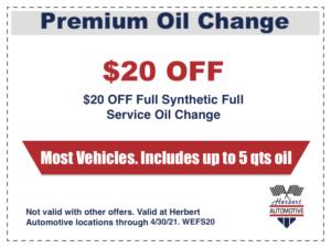 Premium Oil Change