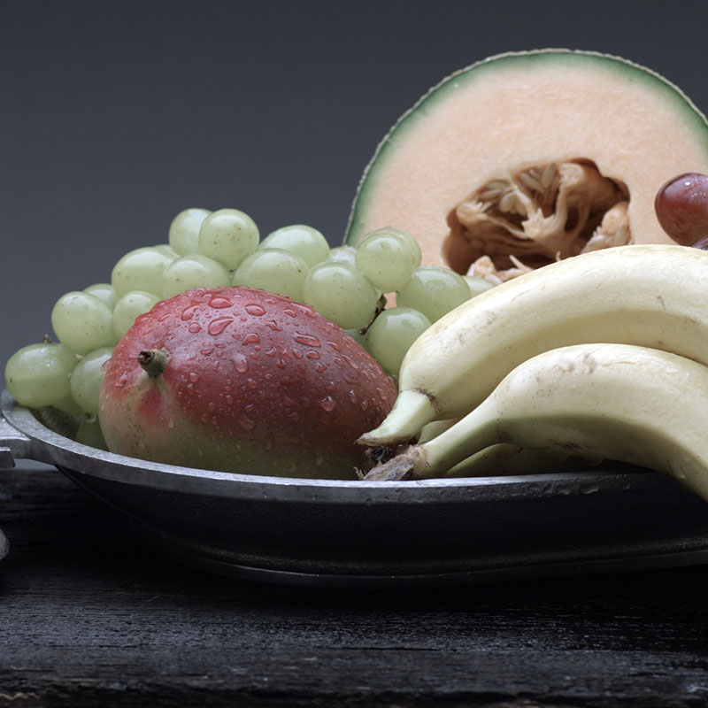 Deceptive Fruits, Shop with the Doc, photo of grapes and bananas