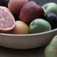 High Fiber Fruits, Shop With The Doc, bowl of fruits
